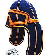 Для дома и интерьера handmade. Livemaster - original item hat for the sauna