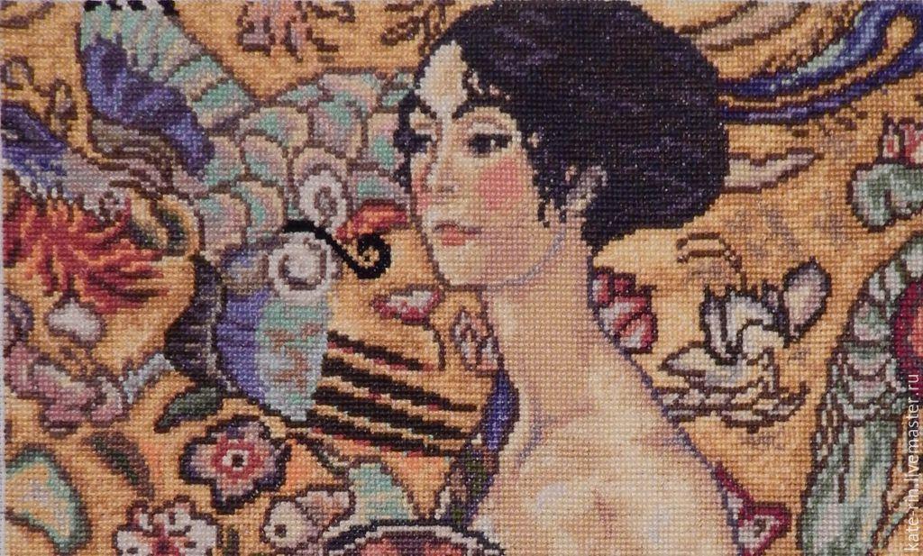 Дама с веером (Густав Климт).