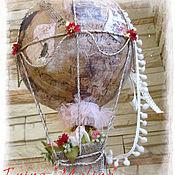 Для дома и интерьера ручной работы. Ярмарка Мастеров - ручная работа Воздушный шар-ночник (светильник). Handmade.