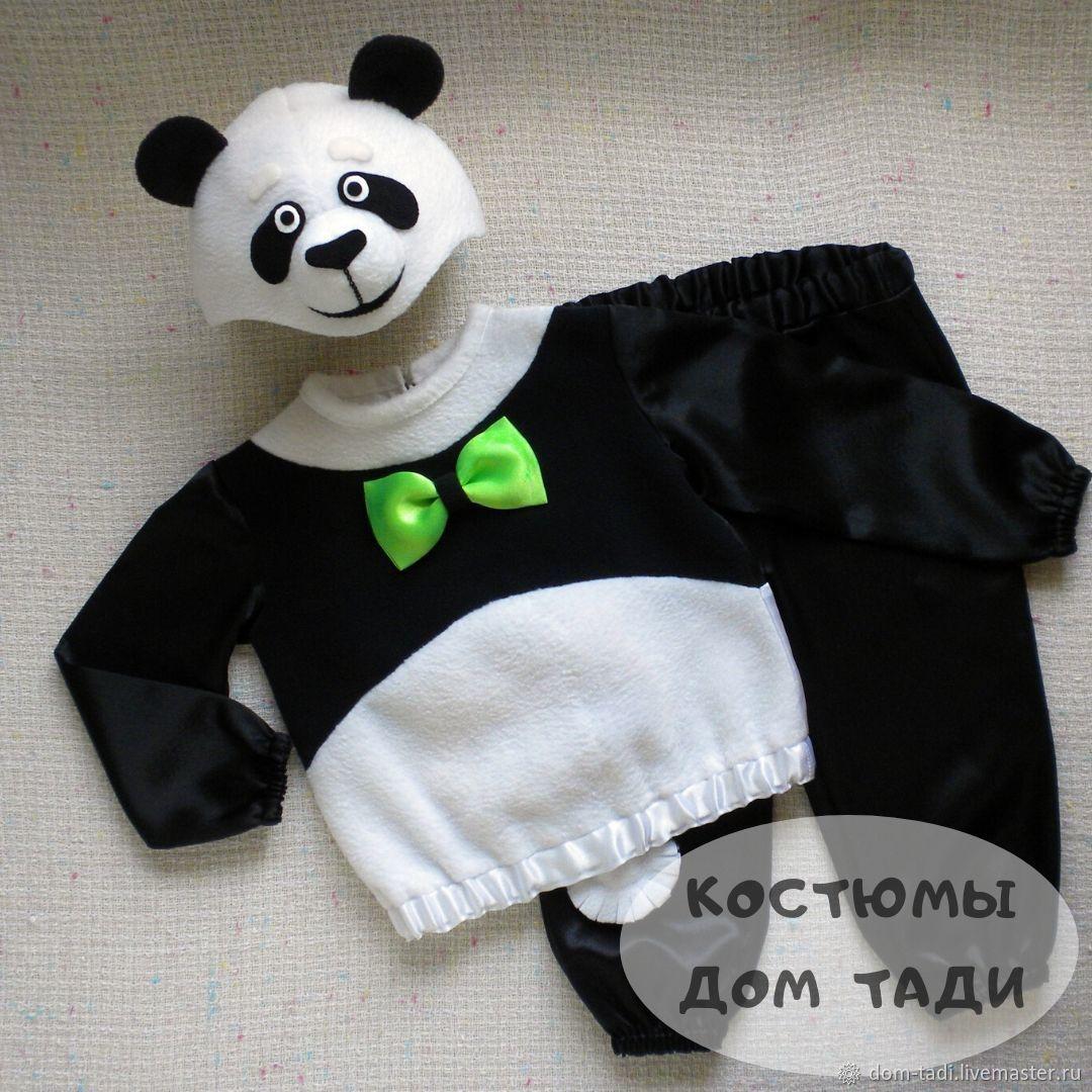 Panda baby new year beautiful costume bears for boy, Carnival costumes for children, Kaliningrad,  Фото №1