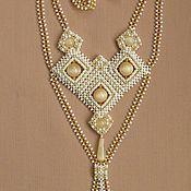 Украшения handmade. Livemaster - original item Gaitan Golden. Handmade.