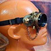 "Субкультуры handmade. Livemaster - original item Monocle Steampunk ""SCIENTIST CYBER-42"". Handmade."