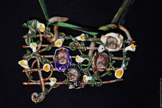 """Кулоны, подвески ручной работы. Ярмарка Мастеров - ручная работа. Купить Подвеска """"Ноты"""". Handmade. Комбинированный, интересное украшение, сувенир"""
