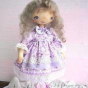 Куклы и игрушки ручной работы. Ярмарка Мастеров - ручная работа Текстильная кукла - Ирис. Handmade.