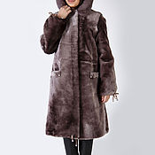 Одежда handmade. Livemaster - original item Coats for teenage girls of Mouton. Handmade.