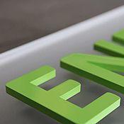 Дизайн и реклама ручной работы. Ярмарка Мастеров - ручная работа Объемный логотип, надпись, слово. Handmade.