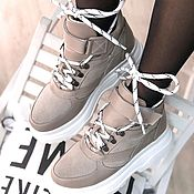 Ботинки ручной работы. Ярмарка Мастеров - ручная работа Ботинки из натуральной кожи, ручная работа. Handmade.