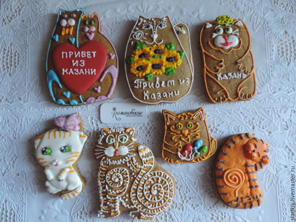 Кот казанский сувенир