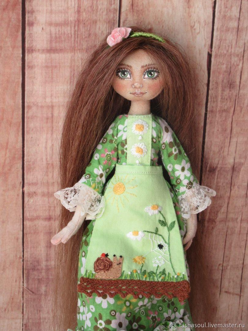 Текстильная кукла Весна, Куклы и пупсы, Балахна,  Фото №1