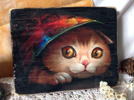 Животные ручной работы. Ярмарка Мастеров - ручная работа. Купить Котико.. Handmade. Кот, коты и кошки, пальто женское