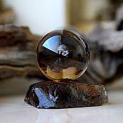 Фен-шуй и эзотерика handmade. Livemaster - original item The ball of smoky quartz (rauchtopaz). Handmade.