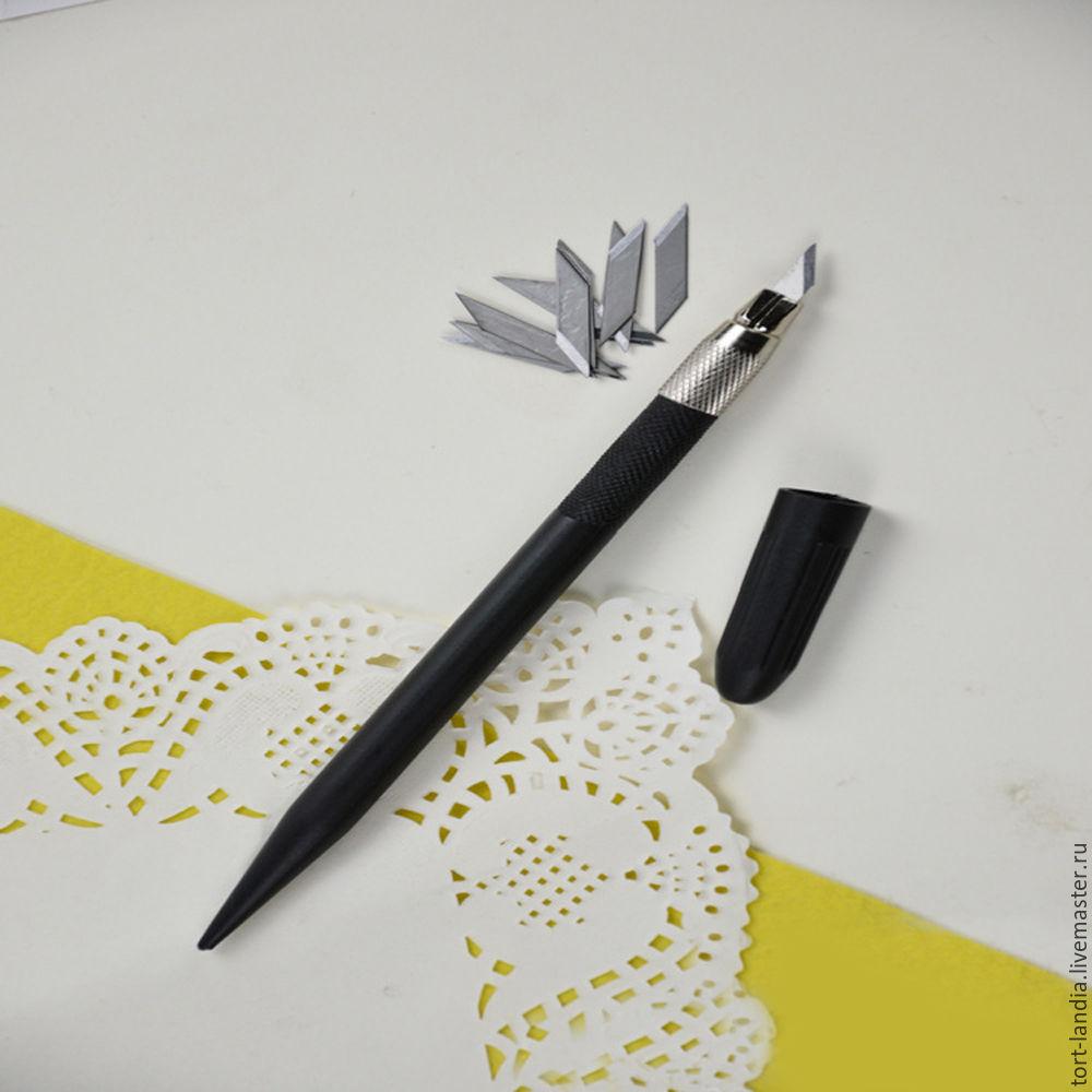 ножи на бумаге рисунок