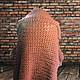 Верхняя одежда ручной работы. Rubino, бордовое пальто-кардиган крупной вязки. WasezUlwini. Ярмарка Мастеров. Кардиган крупной вязки