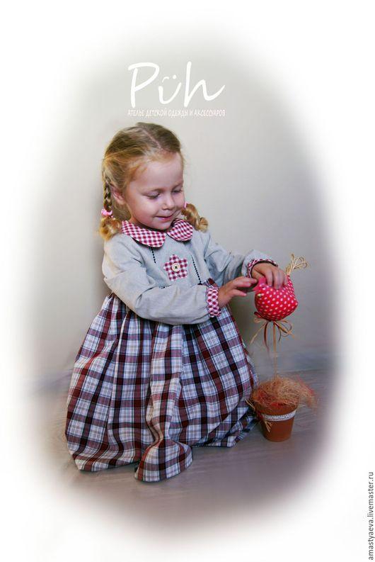 Одежда для девочек, ручной работы. Ярмарка Мастеров - ручная работа. Купить Платье для девочки в стиле бохо. Handmade. Комбинированный