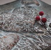"""Для дома и интерьера ручной работы. Ярмарка Мастеров - ручная работа ключница-вешалка """" Сердца четырёх"""". Handmade."""