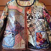 Одежда handmade. Livemaster - original item Patchwork Jacket Mosaic. Handmade.
