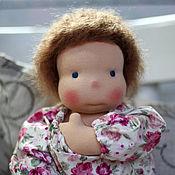 Куклы и игрушки ручной работы. Ярмарка Мастеров - ручная работа Майя  (42 см) кукла игровая  вальдорфская  для девочки. Handmade.