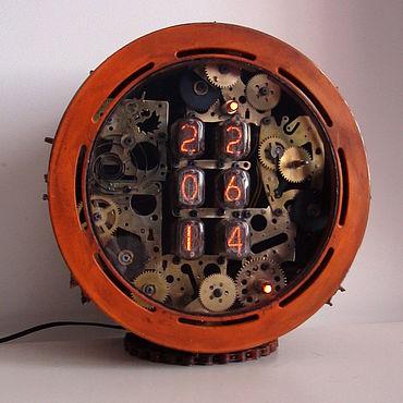 Для дома и интерьера ручной работы. Ярмарка Мастеров - ручная работа Часы: Orange. Handmade.