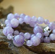Украшения handmade. Livemaster - original item Amethyst. beads. Handmade.