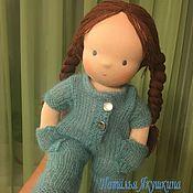 Куклы и игрушки handmade. Livemaster - original item Malinka - Waldorf doll. Handmade.