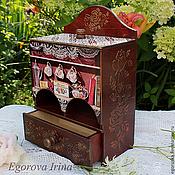 Для дома и интерьера ручной работы. Ярмарка Мастеров - ручная работа Чайный домик Чайный буфет Розовый чай. Handmade.