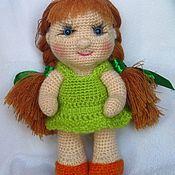 Куклы и игрушки ручной работы. Ярмарка Мастеров - ручная работа Вязаная кукла. Маша. Handmade.