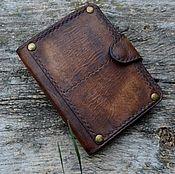 Сумки и аксессуары handmade. Livemaster - original item Leather, personalized, vintage wallet №15. Handmade.