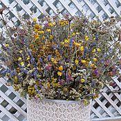 Цветы и флористика ручной работы. Ярмарка Мастеров - ручная работа Букет из луговых трав. Handmade.