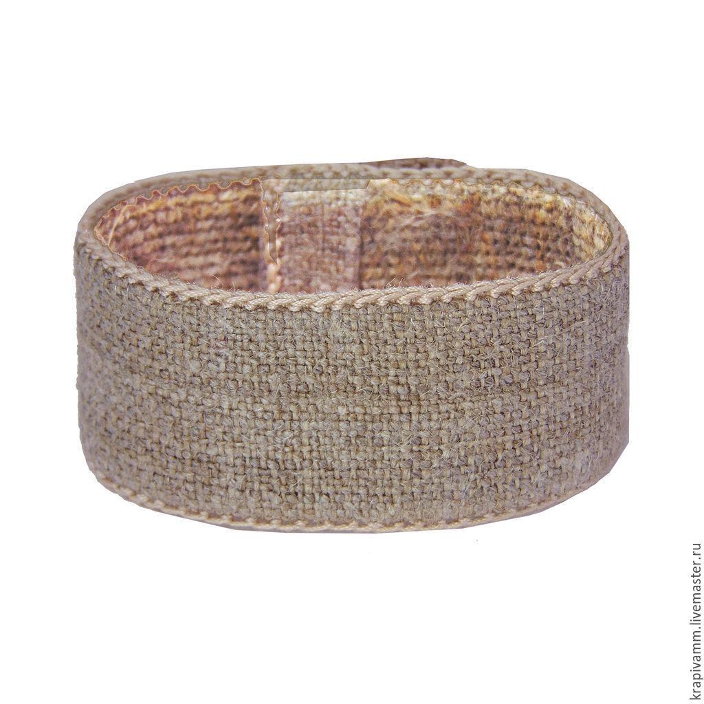Bracelet nettle homespun, Belts and ribbons, Orel,  Фото №1