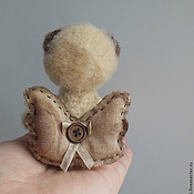 Куклы и игрушки ручной работы. Ярмарка Мастеров - ручная работа Мишка вязаный Мой милый ангел. Handmade.
