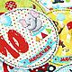 Подарки для новорожденных, ручной работы. Набор наклеек для фотосессии новорождённого Цирк! Цирк! Цирк!. Волшебные штучки от ЁLKi. Ярмарка Мастеров.