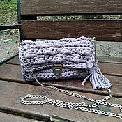 Сумки и аксессуары handmade. Livemaster - original item Bag made of knitting yarn. Handmade.