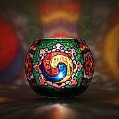 Для дома и интерьера handmade. Livemaster - original item Korean Style Glass Candle Holder. Handmade.