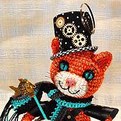 Куклы и игрушки handmade. Livemaster - original item Steampunk cat ` Abigail`.. Handmade.