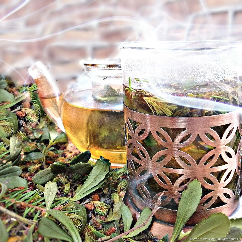 чай таежный с можжевельником и вишней