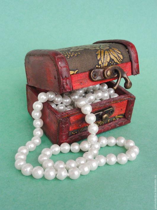 Упаковка ручной работы. Ярмарка Мастеров - ручная работа. Купить Сундучок для украшений деревянный. Handmade. Коробочка, коробочка для бижутерии