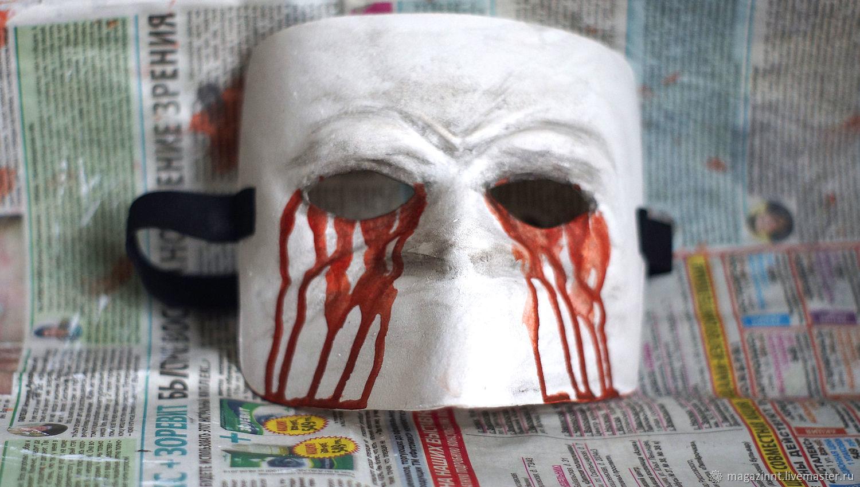 Bauta Venetian mask Bloody Eyes, Accessories, Moscow,  Фото №1