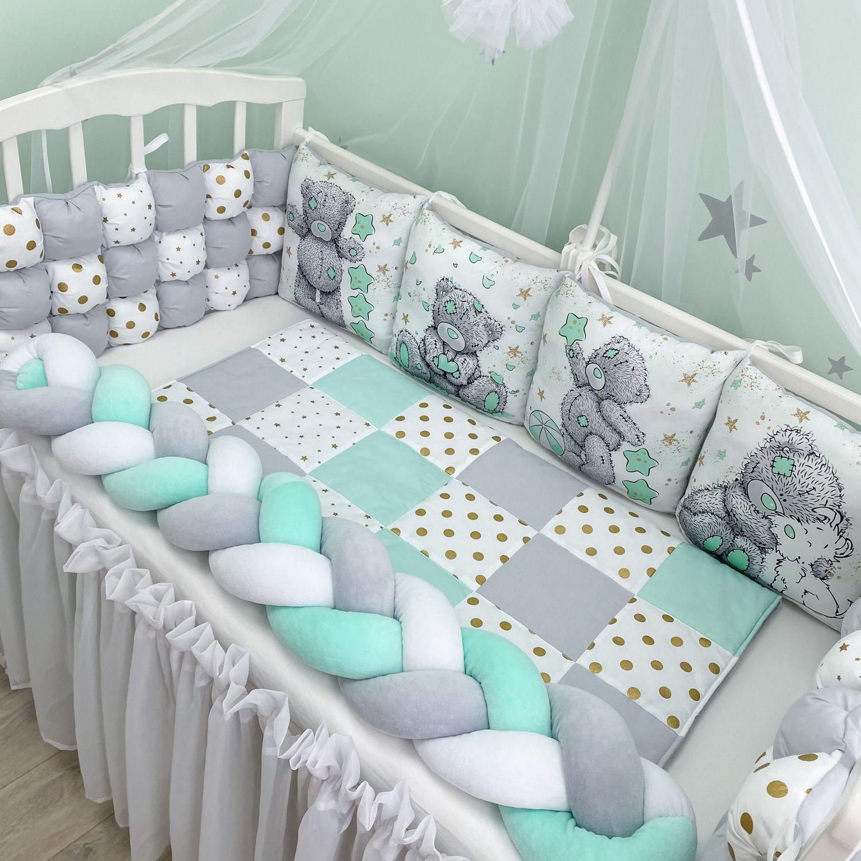 Бортики в детскую кровать, Бортики в кроватку, Благовещенск,  Фото №1