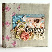 Канцелярские товары handmade. Livemaster - original item Album Astrid. Handmade.