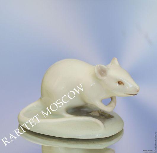 Винтажные предметы интерьера. Ярмарка Мастеров - ручная работа. Купить РЕДКОСТЬ Мышь крыса мышка фарфор клеймо 8. Handmade.