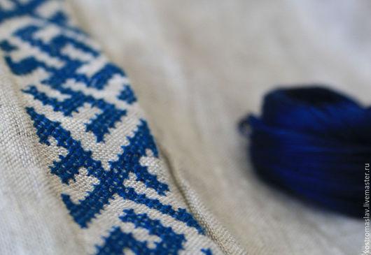 славянская рубаха с ручной вышивкой, льняная рубашка, обережная вышивка на одежде, вышиванка, рубаха на праздник, русская народная одежда