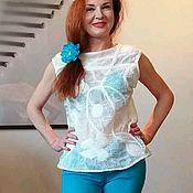 """Одежда ручной работы. Ярмарка Мастеров - ручная работа Блузка летняя """"Искушение"""". Handmade."""