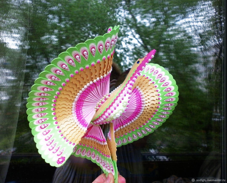 Подарки на свадьбу ручной работы. Ярмарка Мастеров - ручная работа. Купить Свадебный подарок птица счастья 'Яблоневый цвет'. Handmade.