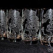 Посуда handmade. Livemaster - original item bonsai. a set of glasses.. Handmade.