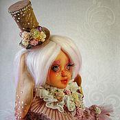 Шарнирная кукла ручной работы. Ярмарка Мастеров - ручная работа ООАК. Зефирка. Авторская шарнирная кукла.. Handmade.