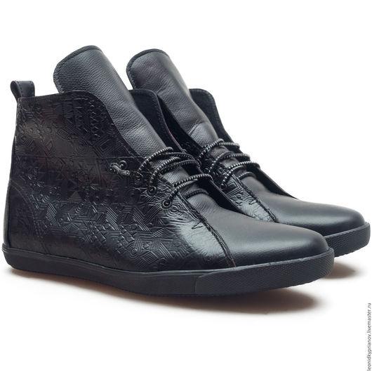 Обувь ручной работы. Ярмарка Мастеров - ручная работа. Купить Модель - Keds. Handmade. Черный, аксессуары ручной работы, обувь