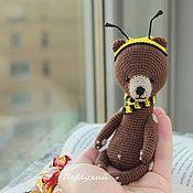 Мишка тедди Пчел, вязаный