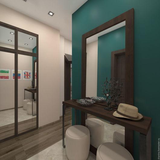 Дизайн интерьера 3х комнатной квартиры, на метро Бауманская. Прихожая. Мария Шанина. Ярмарка Мастеров.