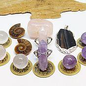 Фен-шуй и эзотерика handmade. Livemaster - original item Set of stones, harmony crystals began. Handmade.