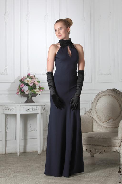 1fc268f6bfd Платья ручной работы. Ярмарка Мастеров - ручная работа. Купить 064 Вечернее  платье годе ...